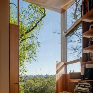 Window in Kew Residence by John Wardle Architects in Melbourne, Australia