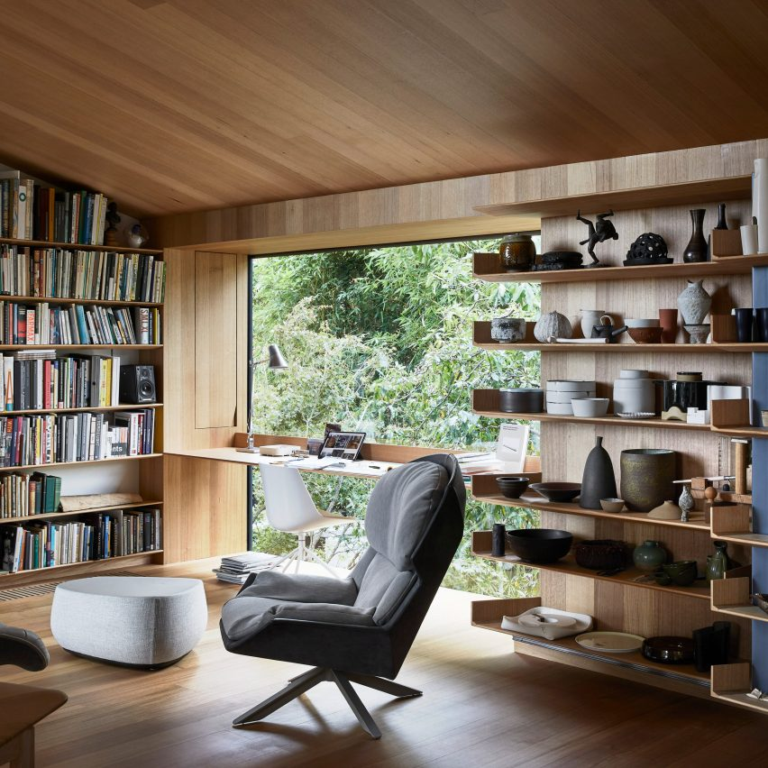 Architect John Wardle renovates his own house in Australia