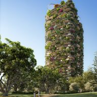 Urban Forest high rise apartment building in Brisbane by Koichi Takada Architects