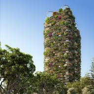 Koichi Takada unveils plant-covered Urban Forest housing high rise for Brisbane