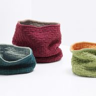 Kvadrat's Knit! exhibition sees 28 designers create objects upholstered in its Febrik textile range