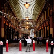 "Leadenhall Market has ""survived plagues, great fires and two world wars"""