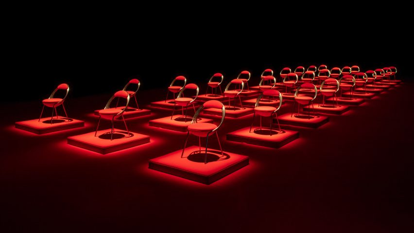 Lee Broom's Maestro Chair was launched as part of LDF
