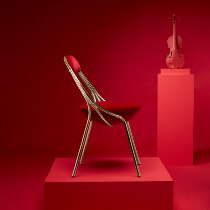 Lee Broom's Maestro chair is being debuted at London Design Festival