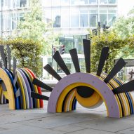 Five whimsical City Benches animate London's streets