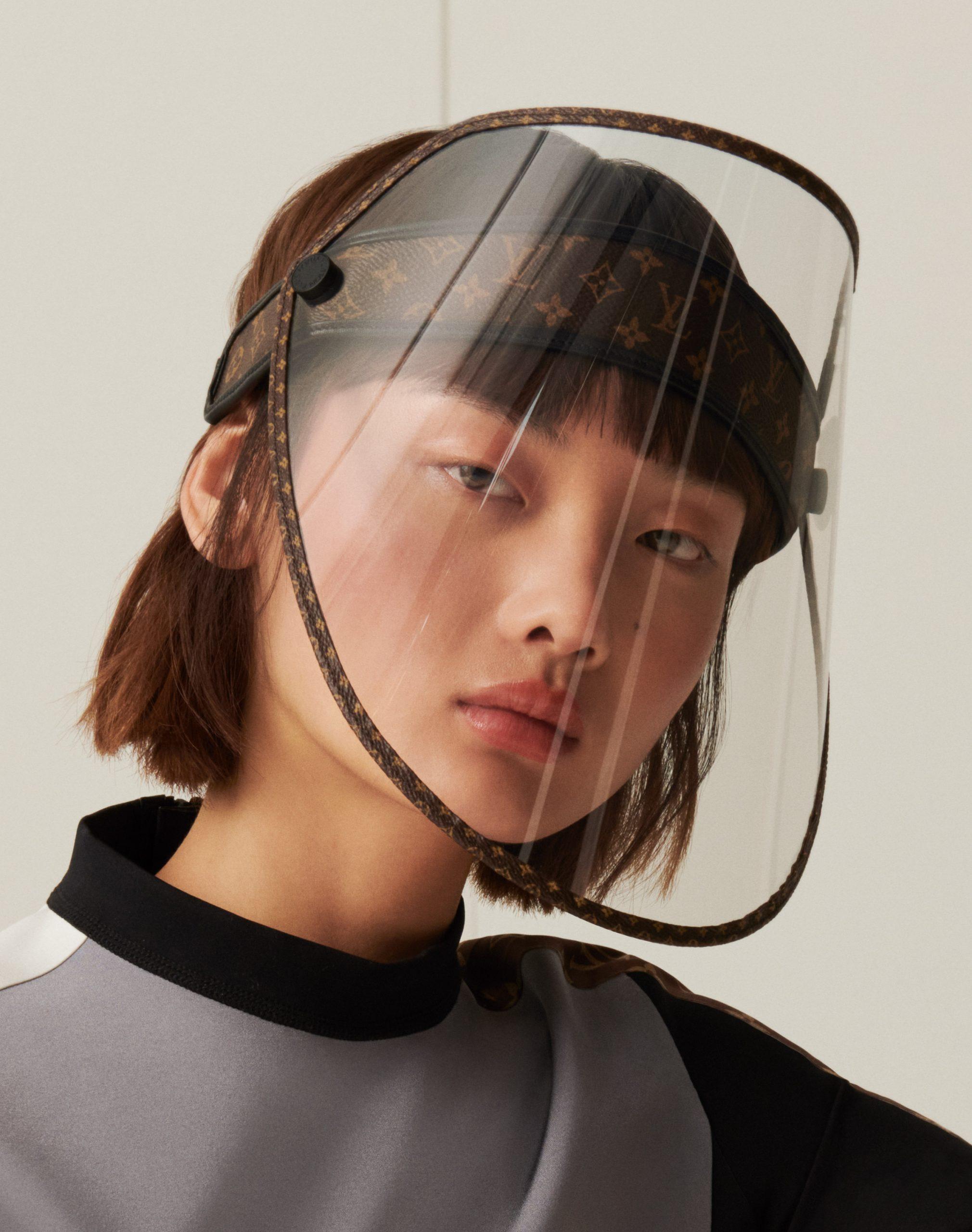 Louis Vuitton unveils face shield that doubles as a cap