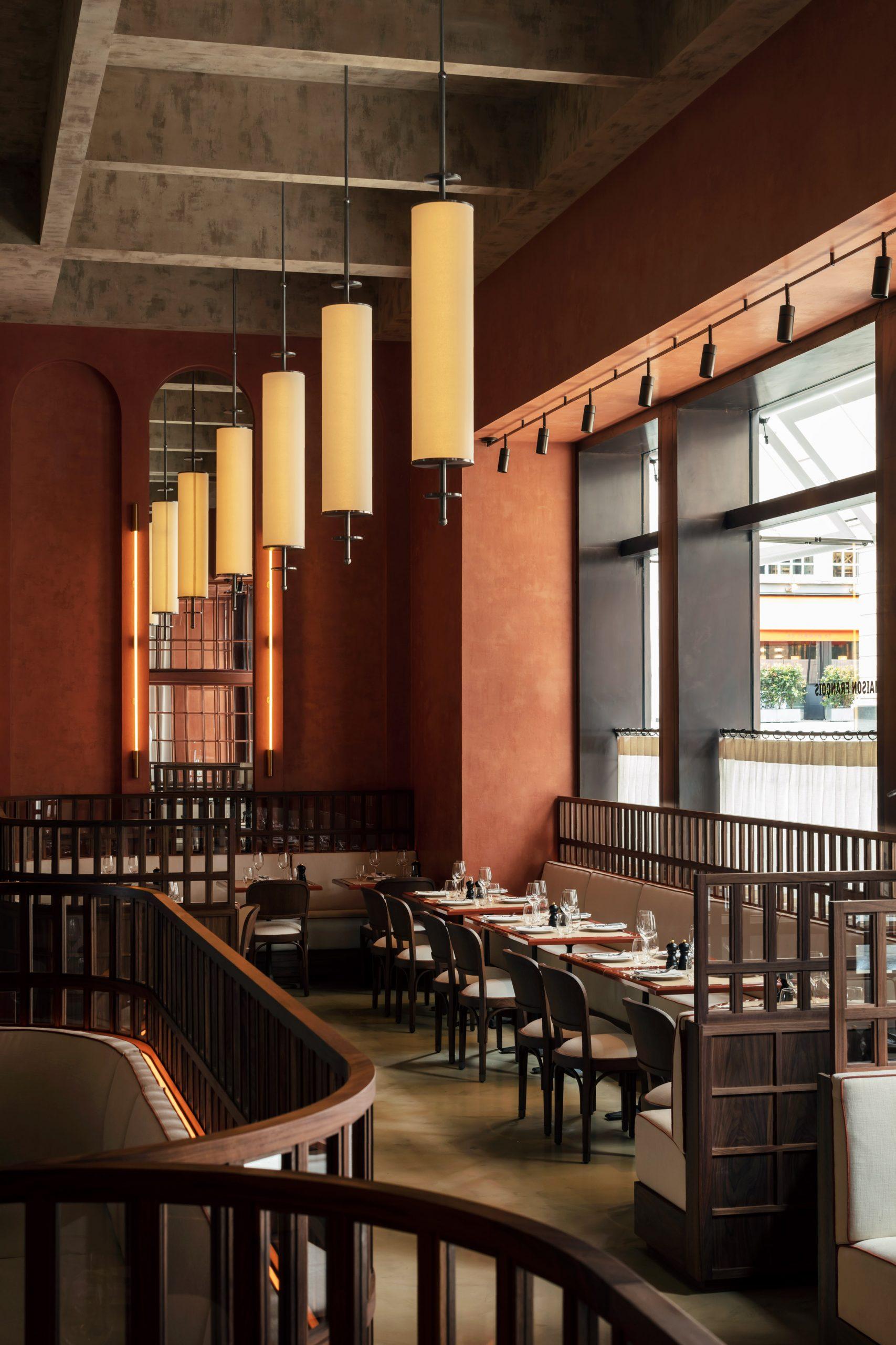 Maison François restaurant designed by John Whelan