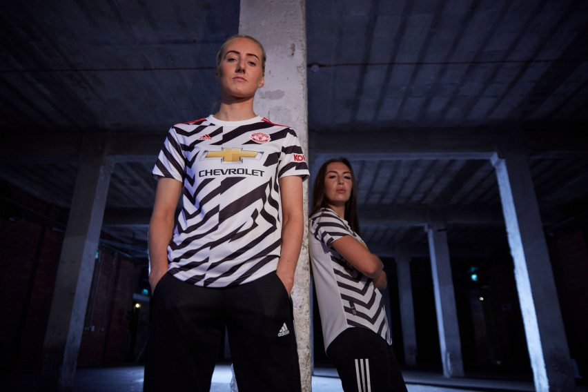 Adidas creates Manchester United dazzle camouflage kit for 2020/21 season