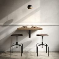 Mater designs stools made with leftover grain from beer and plastic insulin pens