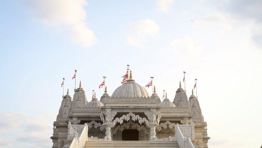 Still of Open House London's short film on Neasden Temple
