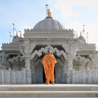 Neasden Temple is built from over 5,000 tonnes of hand-carved stone
