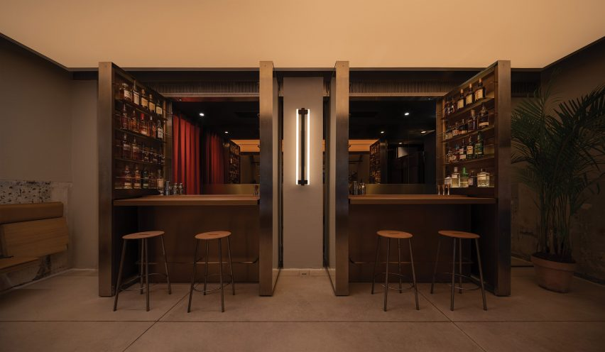 Shop O in Chengdu designed by Office AIO becomes a bar at night