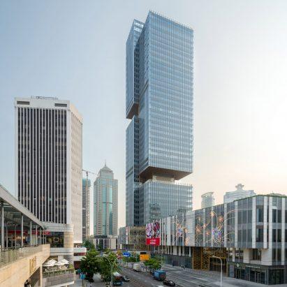 Prince Plaza skyscraper by OMA in Shezhen