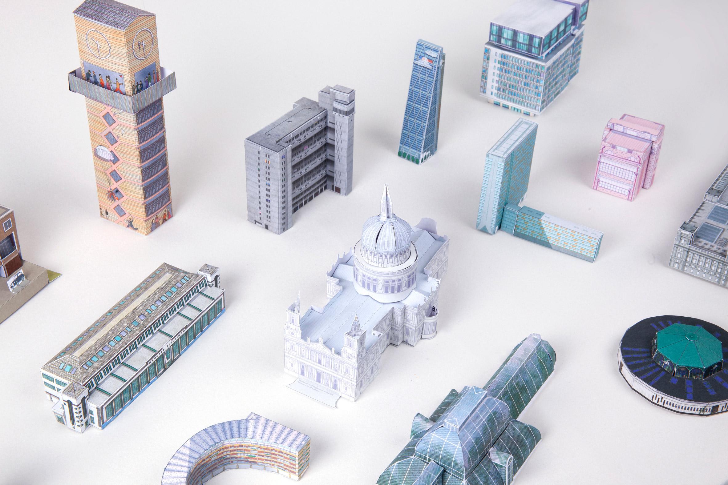 Open House London's building model activity packs
