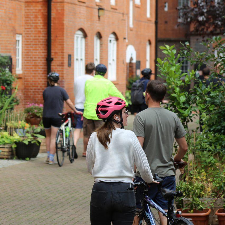 Open House London bike tour