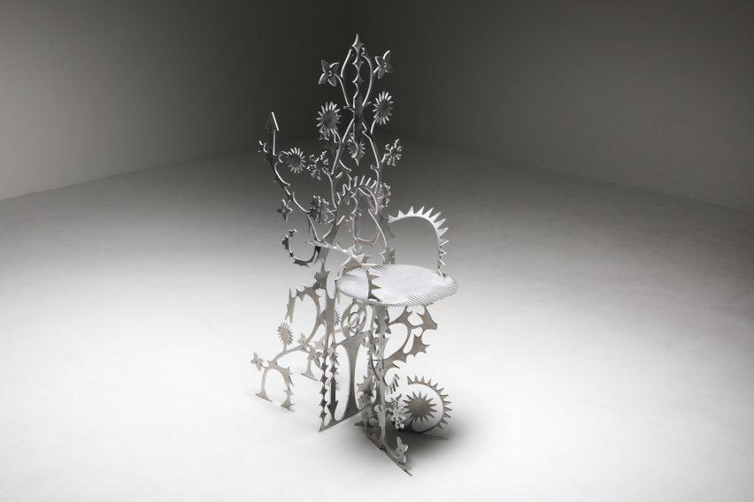 Ornamentum chair by Orson Oxo Van Beek