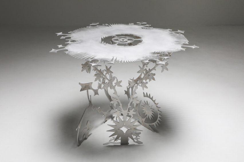 Ornamentum table by Orson Oxo Van Beek