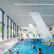 Paris 2024 Olympics Aquatic Centre by VenhoevenCS and Ateliers 2/3/4/