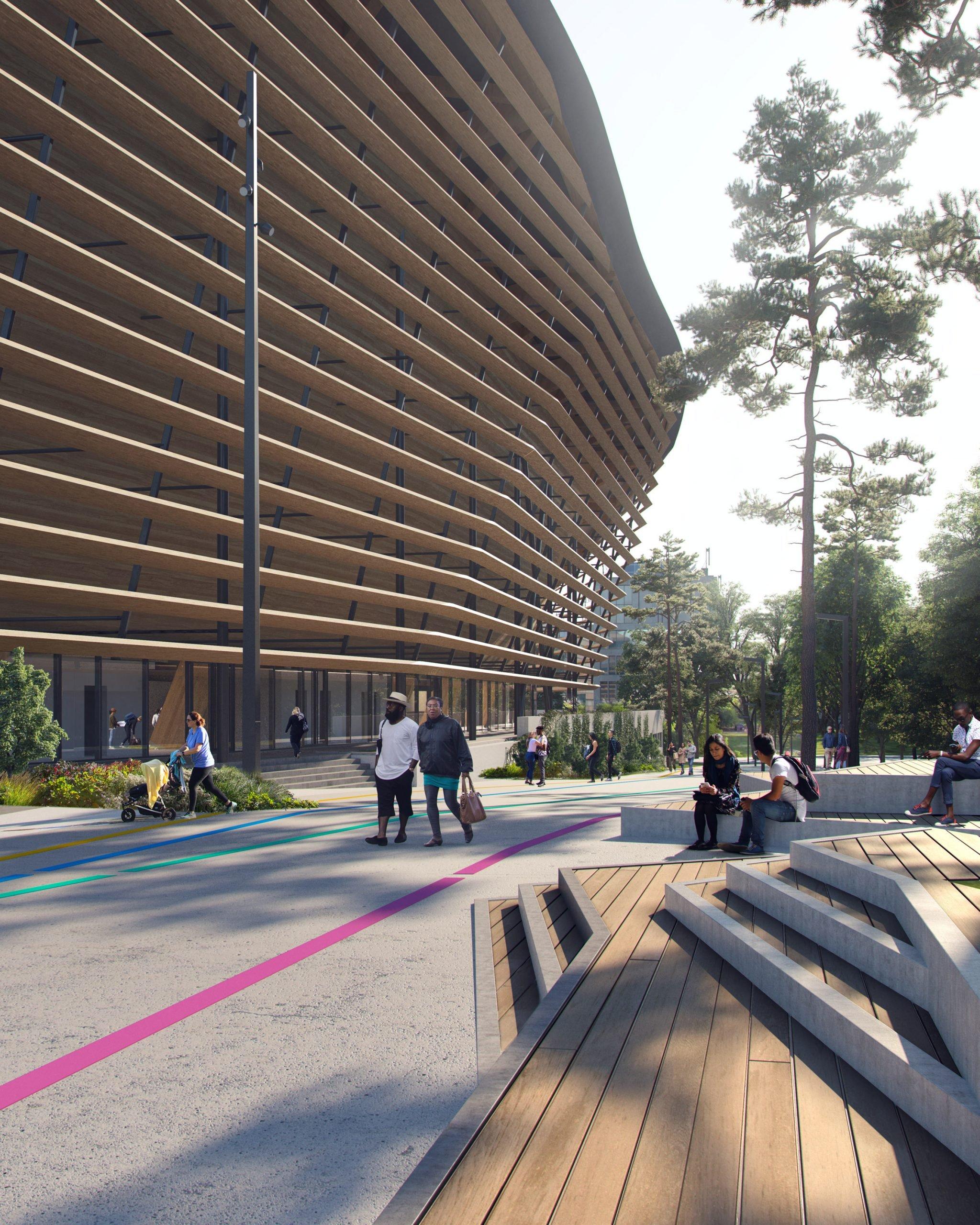 Paris 2024 Olympics Aquatic Centre byVenhoevenCS and Ateliers 2/3/4/