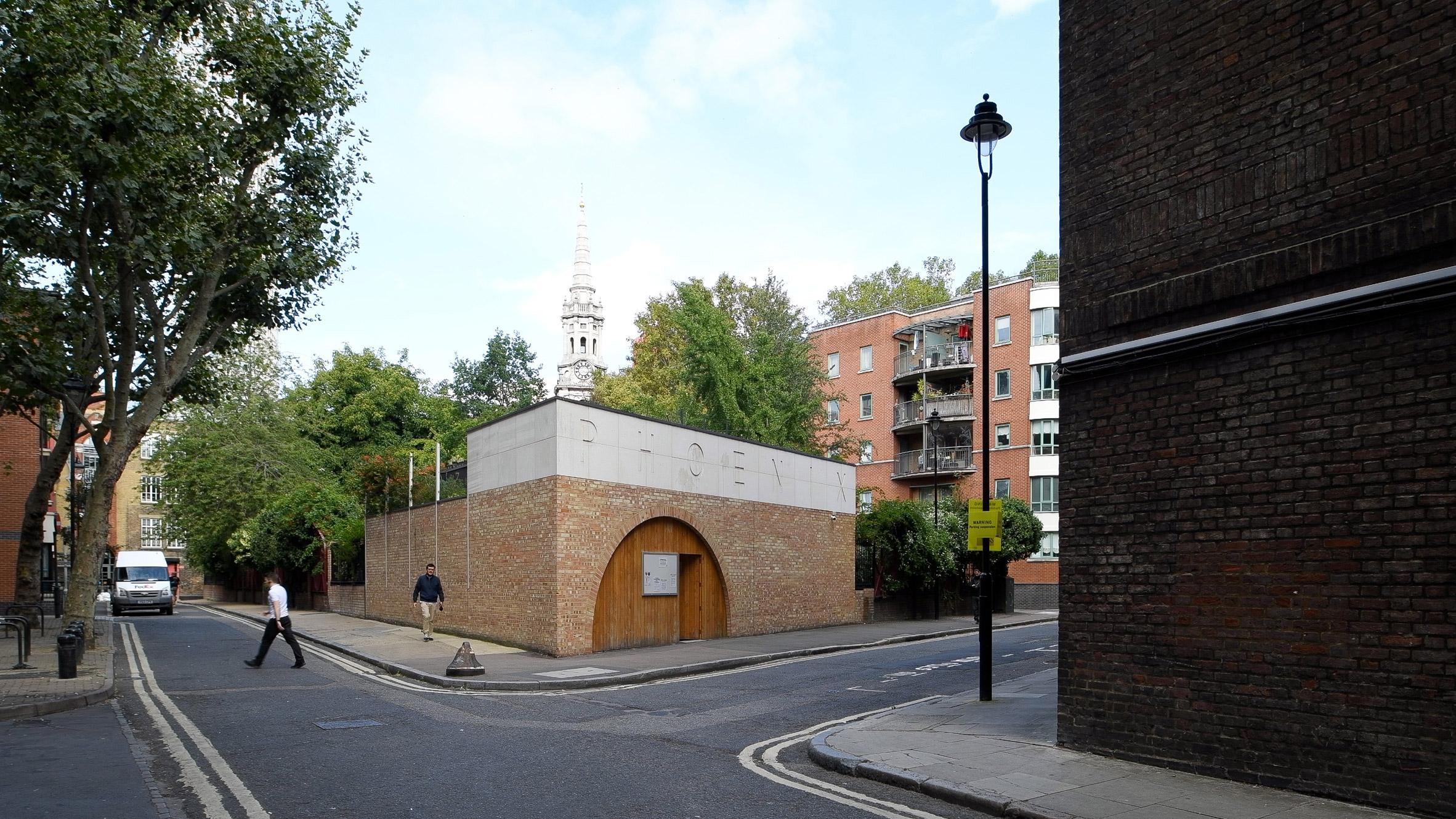 The Phoenix Garden community building in west London by Office Sian