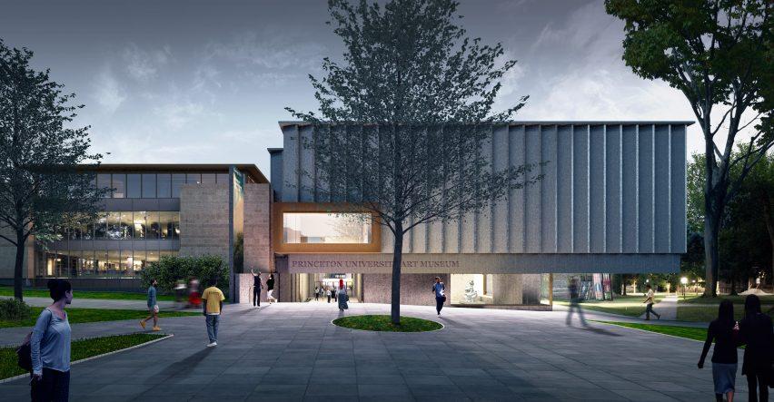 Princeton University Art Museum entrance