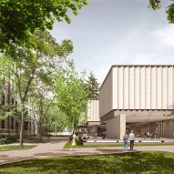 "Adjaye Associates unveils ""romantic and porous"" Princeton University Art Museum"
