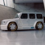 Virgil Abloh designs race-car version of Mercedes‑Benz G‑Class