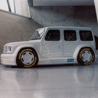 Project Geländewagen by Virgil Abloh and Mercedes Benz