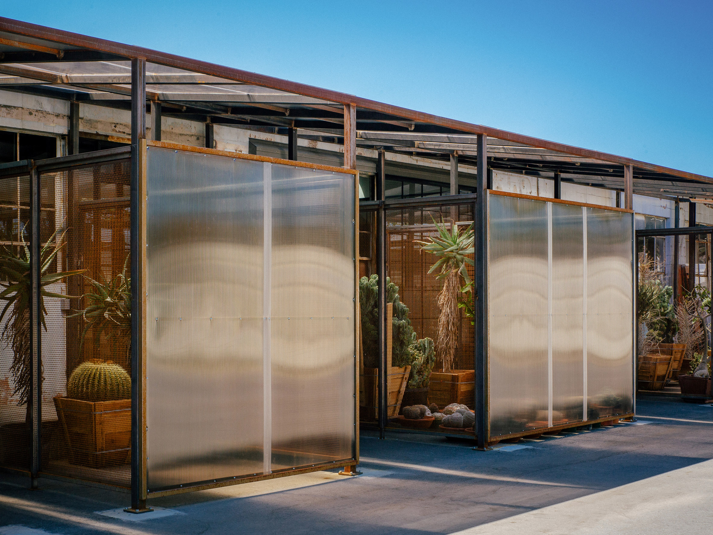 Front of Santa Monica Greenhouse by Part Office