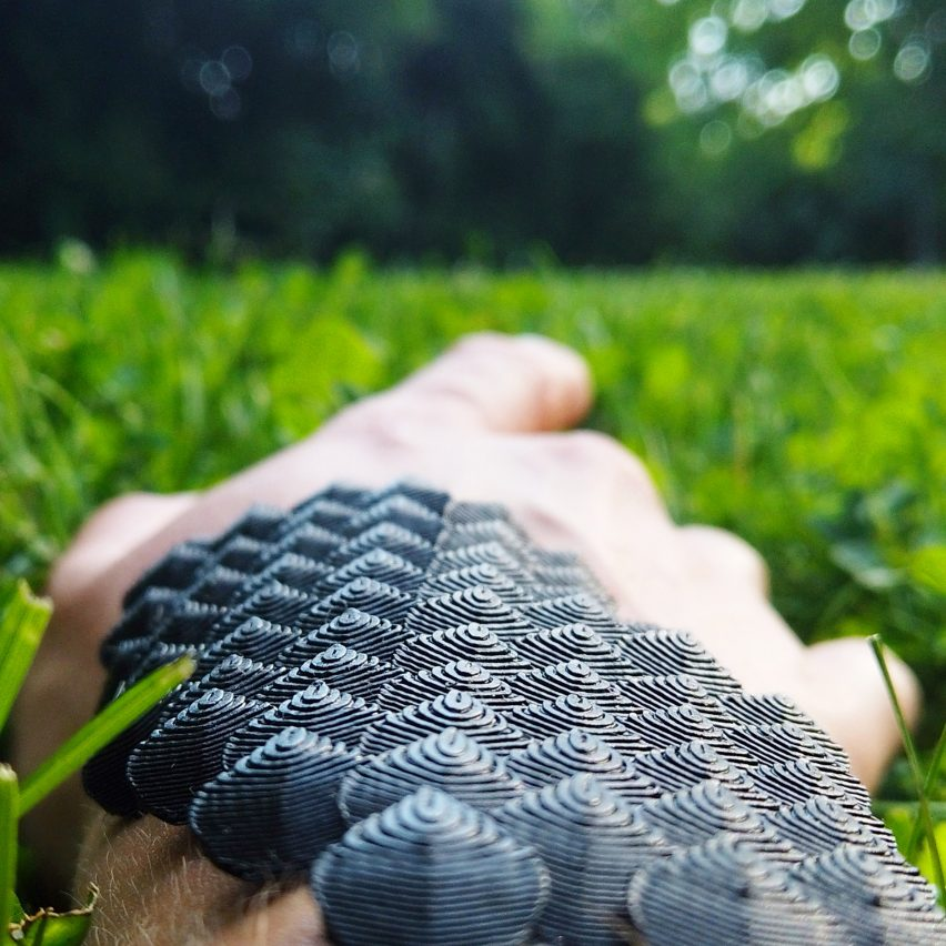 Scaled by Natalie Kerres is a flexible support brace for athletes that could prevent injury