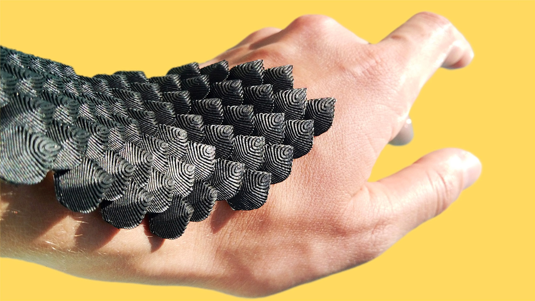 Scaled is a flexible body cast that could protect athletes from injuries