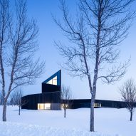 Shape Architecture tops non-denominational centre for remembrance with angular tower