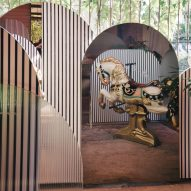 Sister Jane Townhouse by Sella Concept has a secret garden room