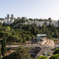 Technion Entrance Gate by Schwartz Besnosoff Architects in Haifa