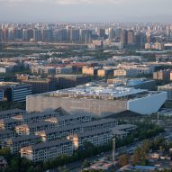 Tencent Beijing Headquarters in China by OMA