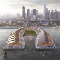 Heatherwick Studio designs flood-resilient park The Cove for San Francisco