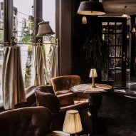 Interiors of The Maker Hotel in Hudson, New York