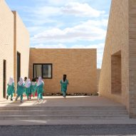 "FEA Studio designs ""neighbourhood"" of classrooms for primary school in Iran"
