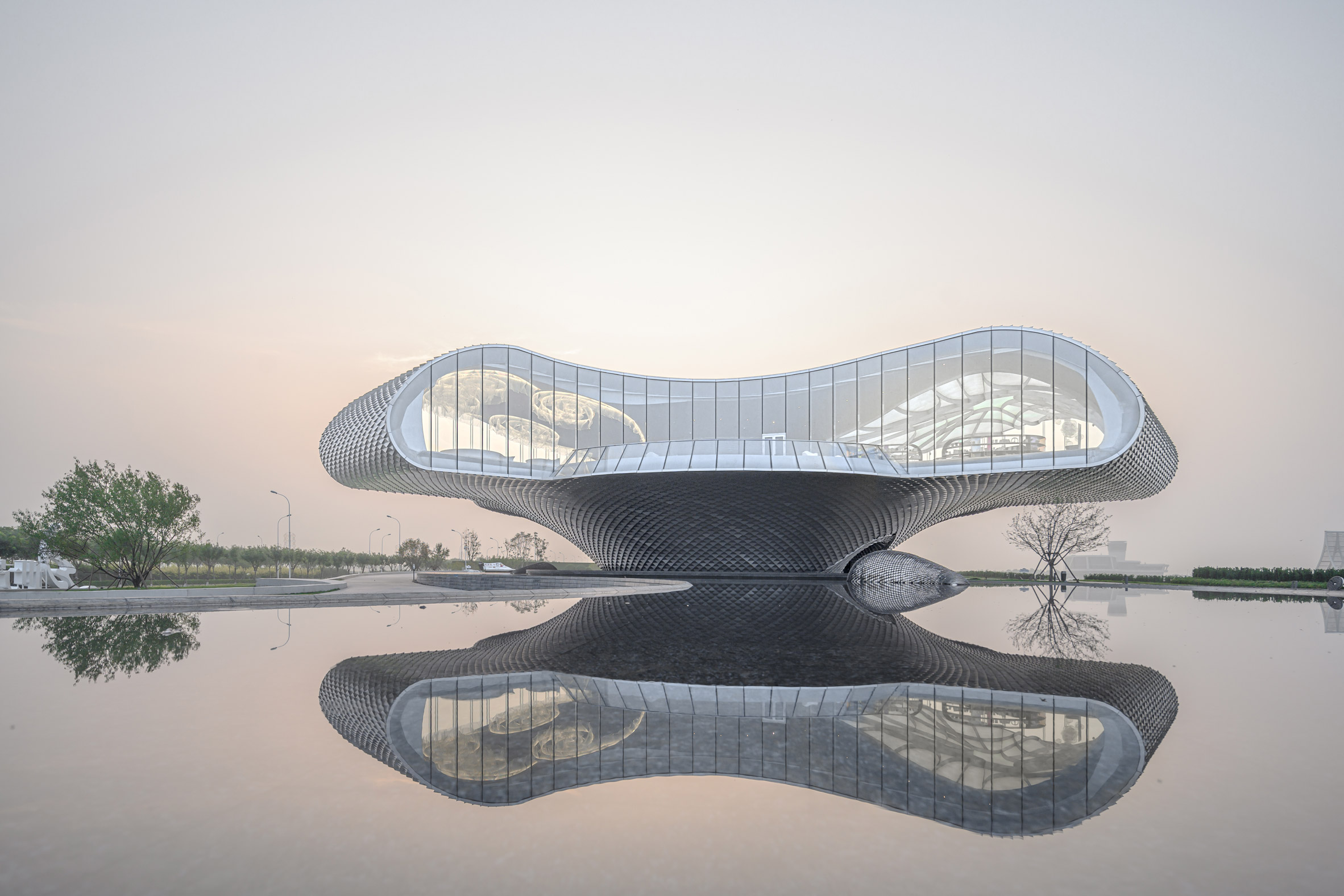 The Wave by Lacime Architects in Tianjin, China