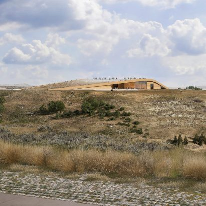 Snøhetta to design Theodore Roosevelt Presidential Library in North Dakota