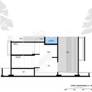 Plans for Trefoil House by Double O Studio