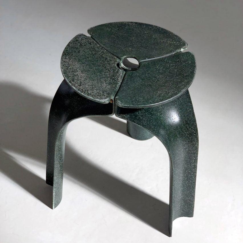 Triplex stool by Studio RYTE