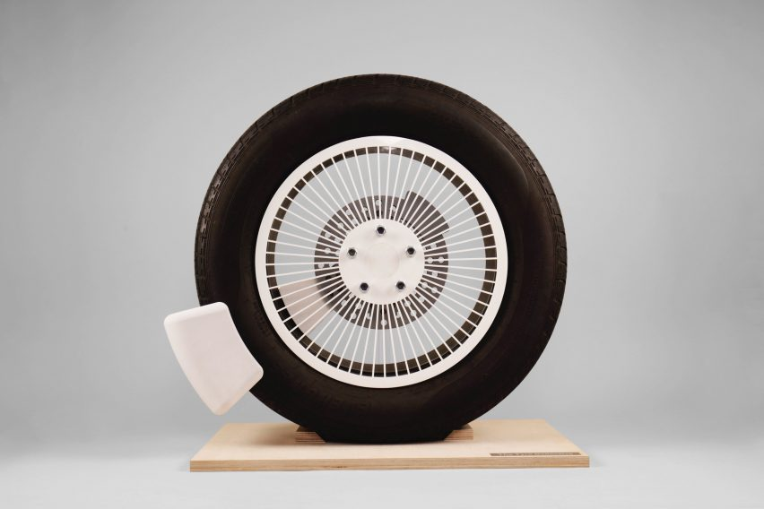 The Tyre Collective's TC01 device has won the national James Dyson Award 2020