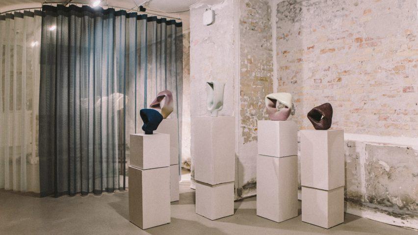 Stoneware by Esben Kaldahl at Ukurant