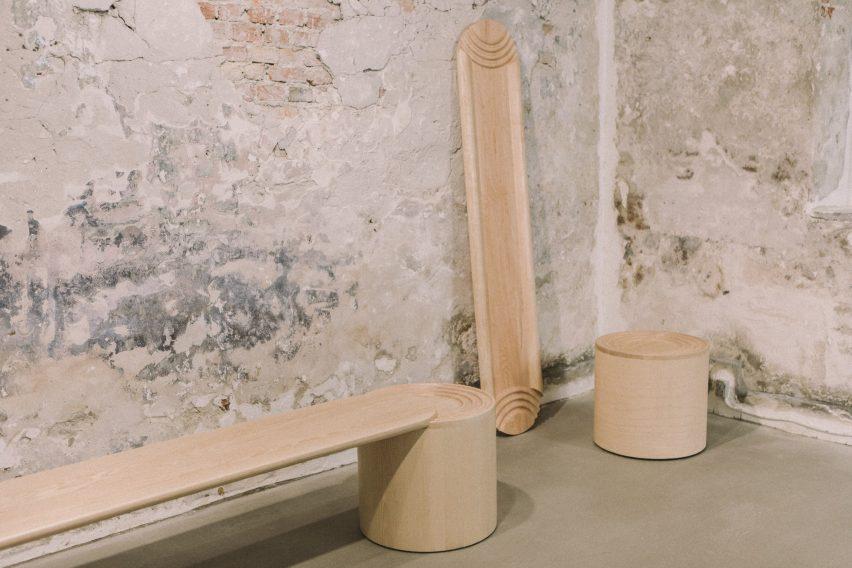 Atlas bench by Kasper Kyster