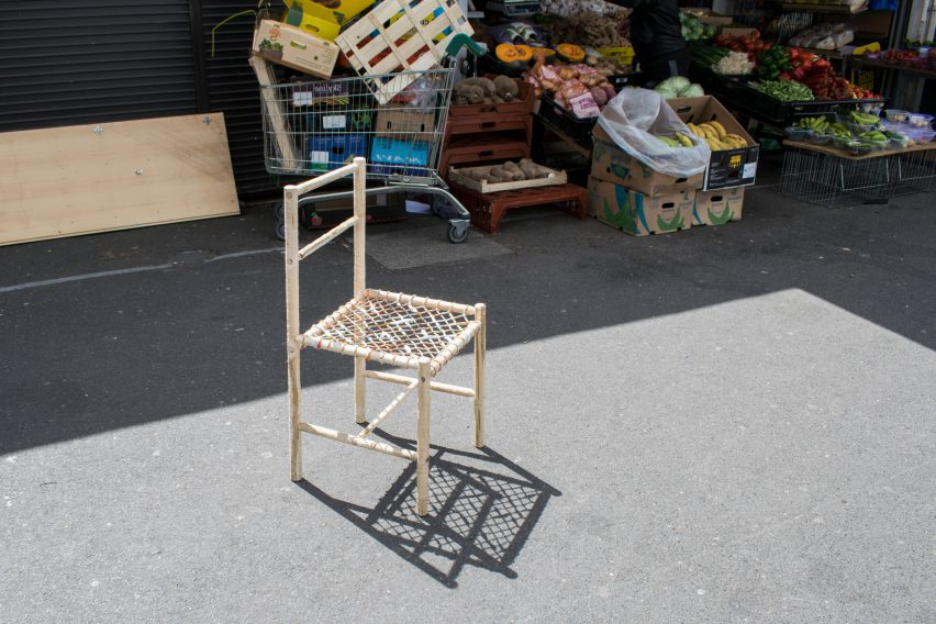 SE17 Chair by RCA graduate Andrew Scott