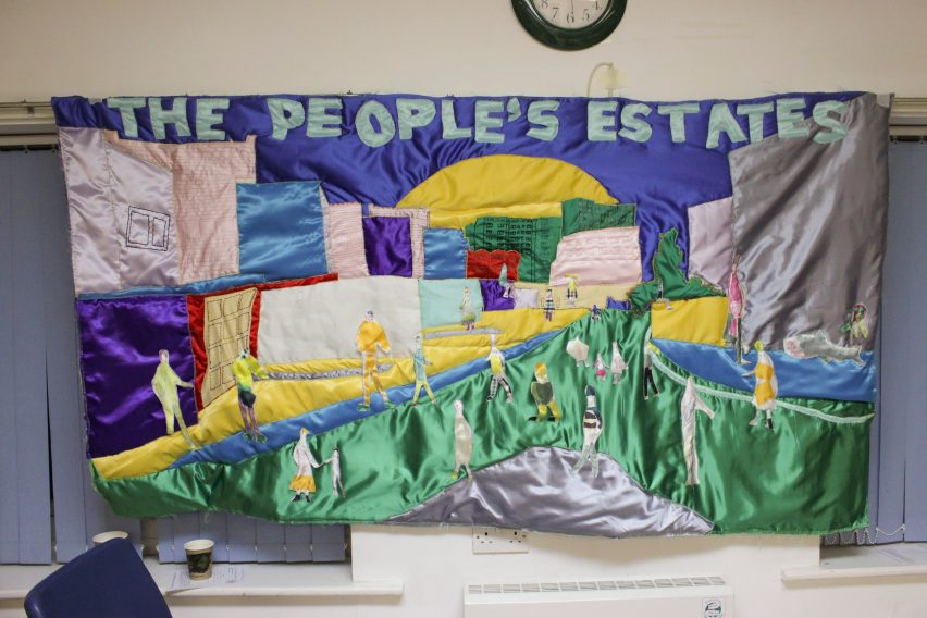 The People's Quilt by RCA graduate Georgia Cottington