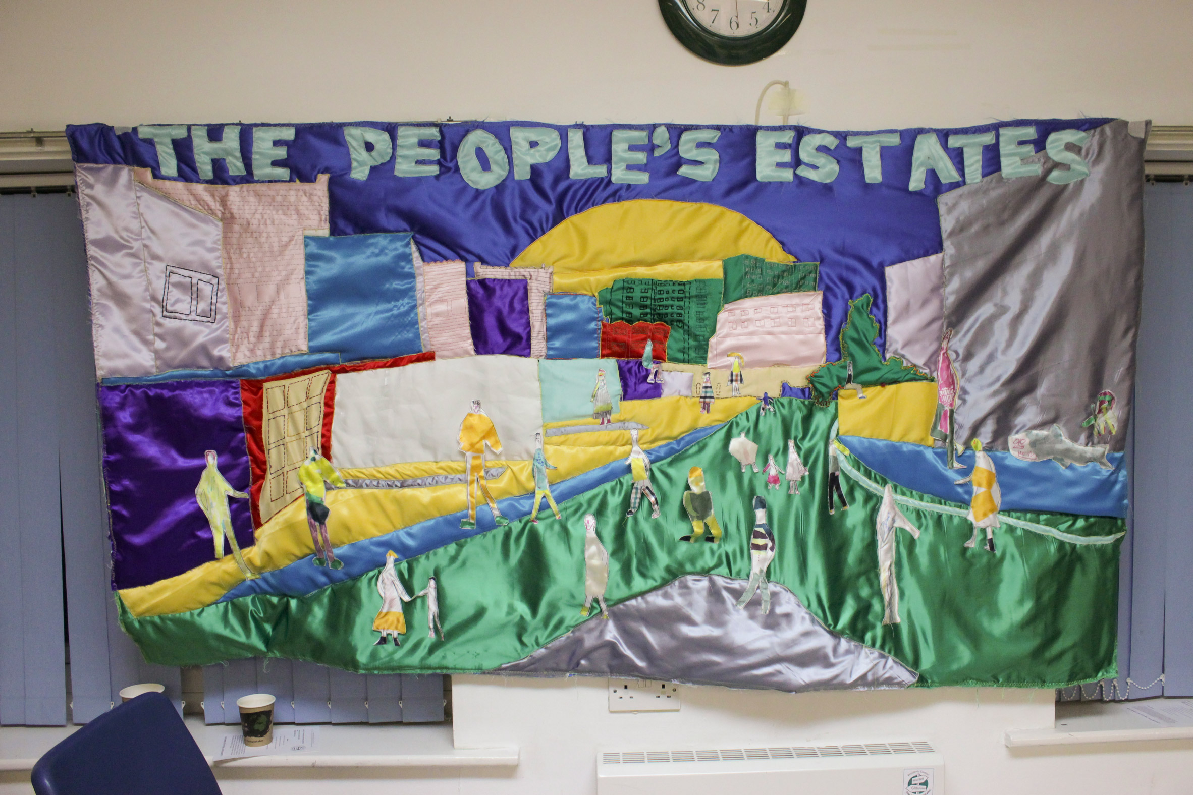 The People's Quilt by RCA graduate Georgia Cottington