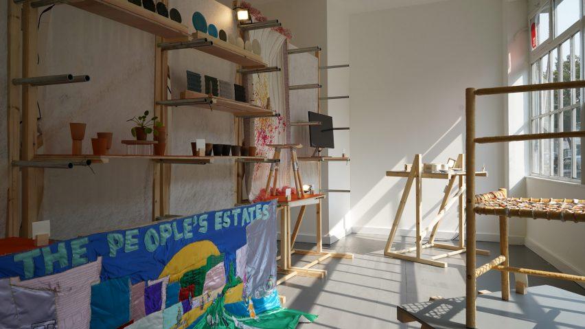 O Showcase (Des) concluído por graduados do Royal College of Art no London Design Festival 2020