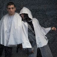 Urbanella is a rainproof cape that packs away into a handy bag